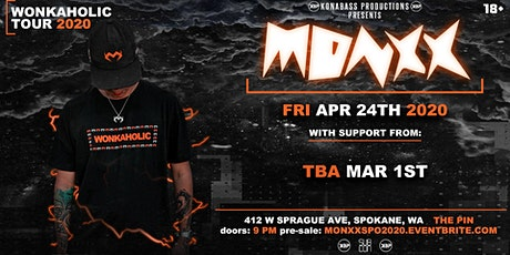 Monxx: Wonkaholic Tour 2020 Spokane - 4.24.20 tickets