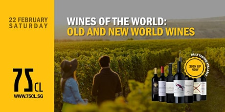 Wines of the World: Old and New World Wines tickets
