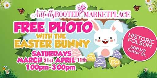 FREE DIGITAL PHOTO with the EASTER BUNNY!!
