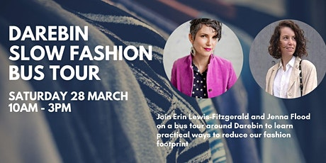 Darebin slow fashion bus tour tickets