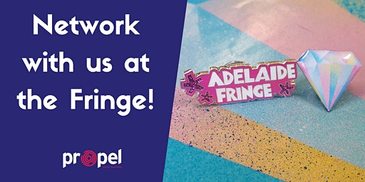 Networking at the Fringe!