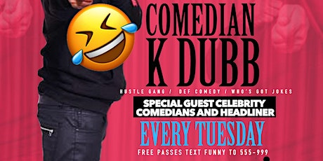 FREE TUESDAY NIGHT COMEDY SHOW  tickets