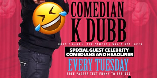 FREE TUESDAY NIGHT COMEDY SHOW