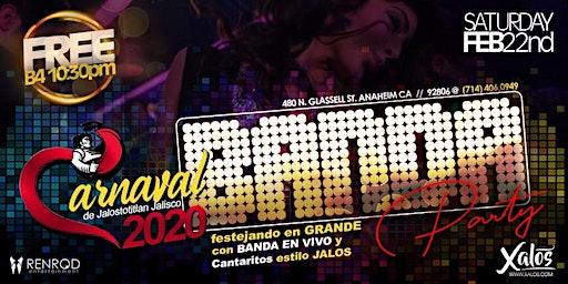 Noche de Carnaval en Xalos 10pm - 2am