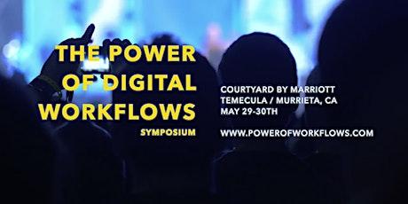 The Power Of Digital Workflows Symposium tickets
