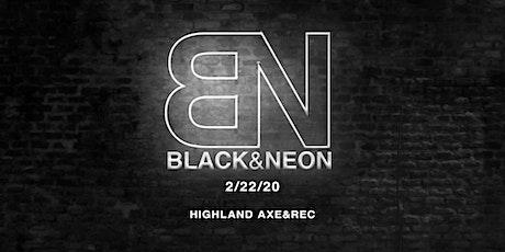 Black and Neon Saturdays tickets