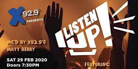 X929FM Presents Listen Up Calgary! 2020 tickets