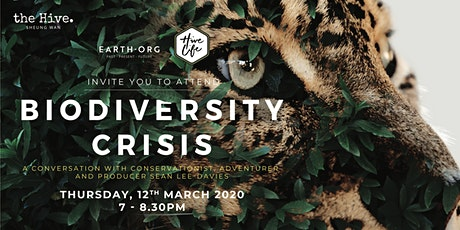Biodiversity Crisis: A conversation with Sean Lee-Davies tickets