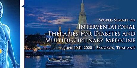 World Summit on International Therapies for Diabetes and Multidisciplinary tickets