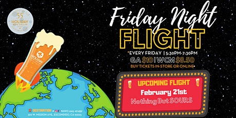 #FridayNightFlight | Pucker-Up with Sour Beers tickets
