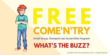 Free Come N Try Social Skills - Ages 8-12 tickets