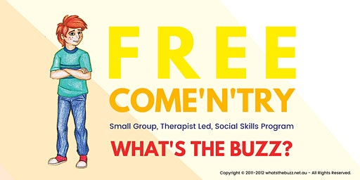 Free Come N Try Social Skills - Ages 8-12