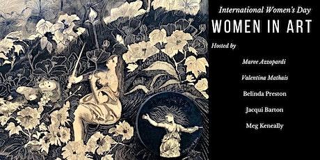 International Women's Day Cocktail High Tea & Art Exhibition tickets