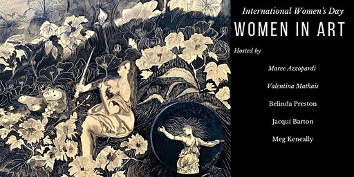International Women's Day Cocktail High Tea & Art Exhibition