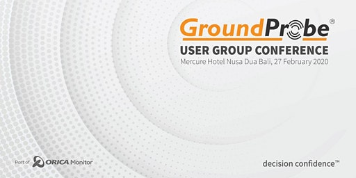GroundProbe 2020 User Group Conference