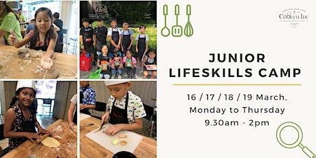 Junior Lifeskills Camp - March Holidays tickets