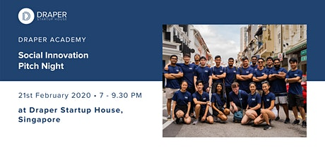 Social Innovation Pitch Night with Draper Startup House Academy tickets