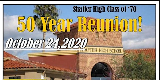 Shafter High 1970 50 Year Reunion