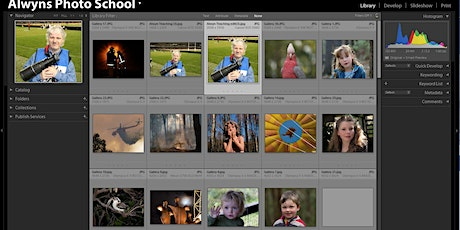 Photography Course 20-Lightroom Classic Part 1 Introduction  (Hawthorn) tickets