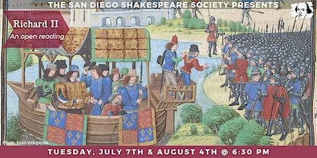 Monthly Shakespeare Reading – Coronado tickets