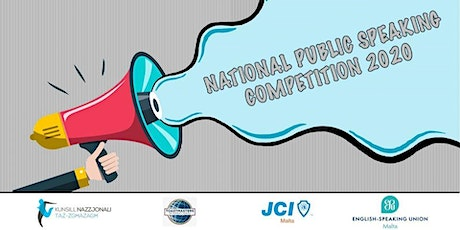 National Public Speaking Competition 2020 tickets