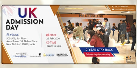 UK ADMISSION DAY - 22nd FEB (SATURDAY) tickets