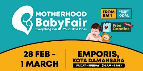 Motherhood Baby Fair 2020 billets