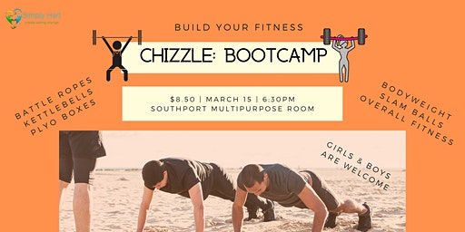 Chizzle: Bootcamp Pop Up