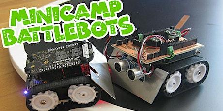 MiniCampamento BATTLEBOTS - Construye tu robot entradas