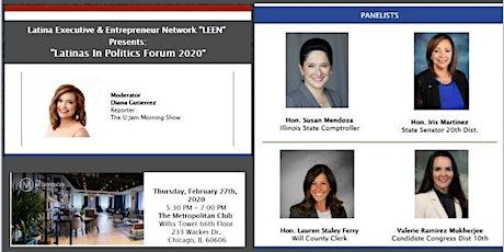 LEEN Presents: Latinas in Politics Forum  tickets