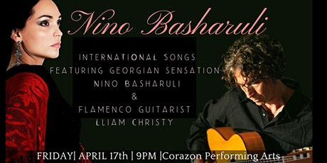 CANCELLED Georgian singer Nino Basharuli | A Night Of International Songs tickets