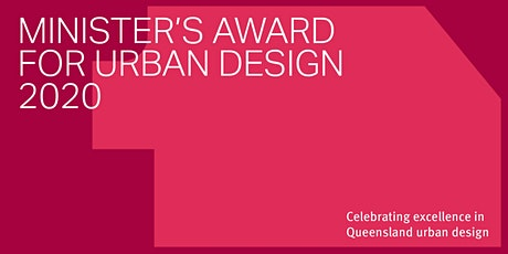 The Minister's Award for Urban Design 2020 tickets