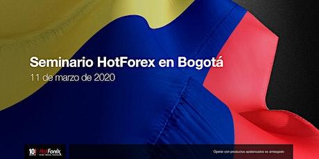 Evento de HotForex en Bogotá entradas
