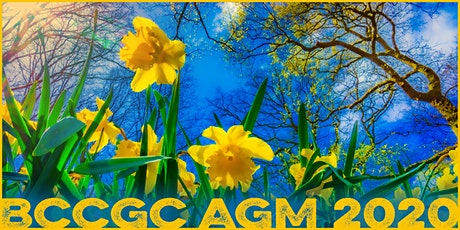 BC Council of Garden Clubs 2020 AGM  tickets