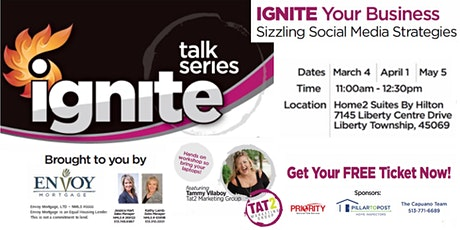 REALTORS - IGNITE Your Business: Sizzling Social Media Strategies tickets