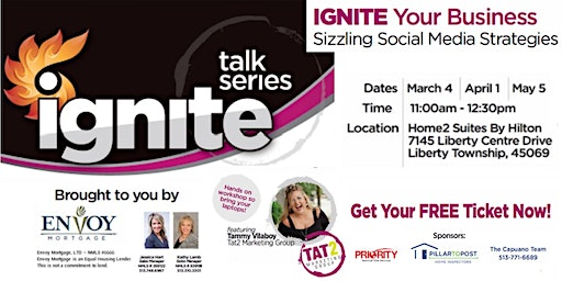 REALTORS - IGNITE Your Business: Sizzling Social Media Strategies