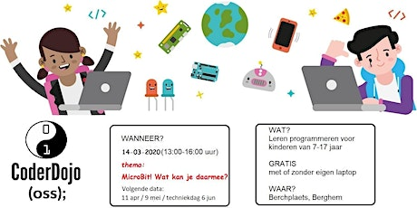 CoderDojo Oss editie #48 tickets