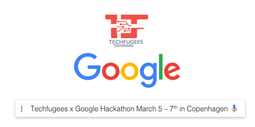 Google x Techfugees Copenhagen Hackathon - March