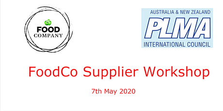 PLMA's FoodCo Supplier Workshop 2020 tickets