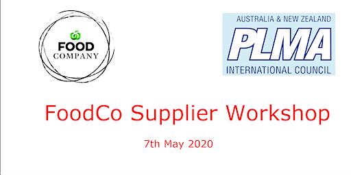 PLMA's FoodCo Supplier Workshop 2020
