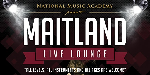 National Music Academy Maitland Live Lounge - Term 1 2020