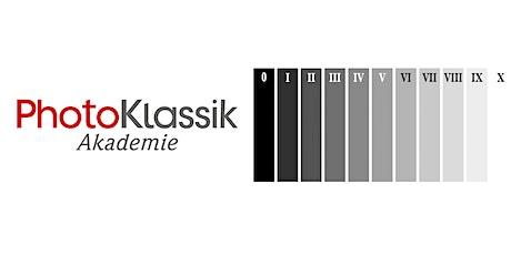 Workshop Eintesten Filmentwicklung / Zonensystem Tickets