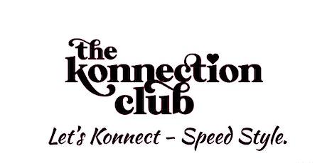 Let's Konnect - Speed Style! (Men/Women  45 - 55) tickets