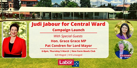 Judi Jabour for Central Ward Campaign Launch! tickets