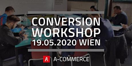 Conversion Workshop Wien Tickets