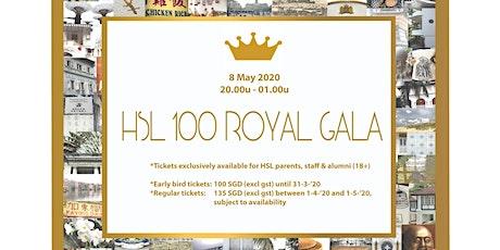 HSL100 Royal Gala tickets
