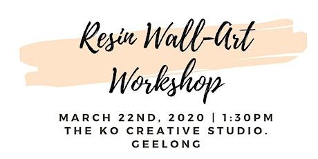 Resin WALL-ART Workshop tickets
