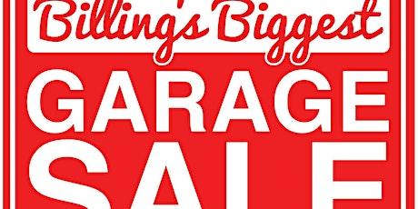 Billings Biggest Garage Sale 2020 (6/27/20) tickets