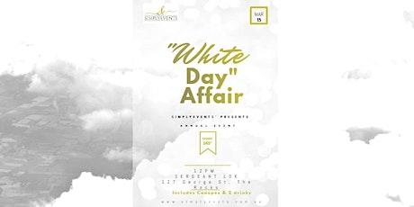"""""""White Day"""" Affair tickets"""