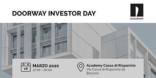 Doorway Investor Day Bolzano
